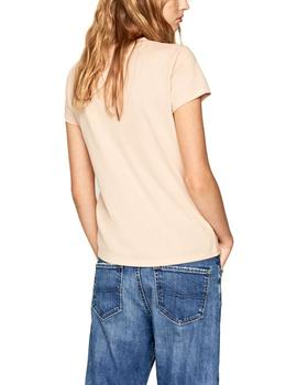 Camiseta Pepe Jeans Lacey rosa