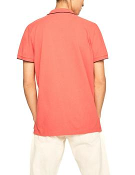 Polo Pepe Jeans Lucas coral