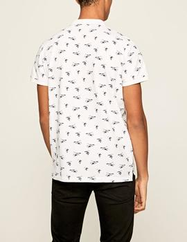 Polo Pepe Jeans Lacy blanco