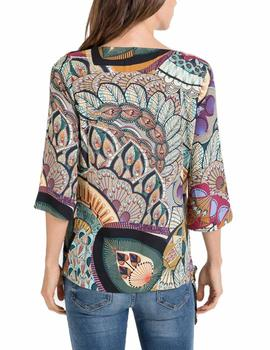 Blusa Massana estampada multi