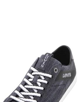 Sneakers Levis Woodward L negro