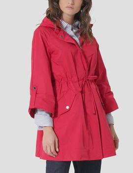 Parka Lion of Porches con capucha roja