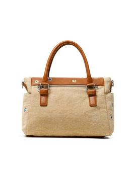 Bolso Desigual July Denim beige