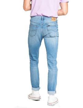 Pantalón vaquero Lee Rider Slim Light Daze azul