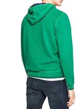 Sudadera Pepe Jeans Sealey verde
