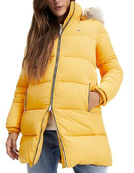 Anorak Tommy Jeans Modern Puffa amarillo