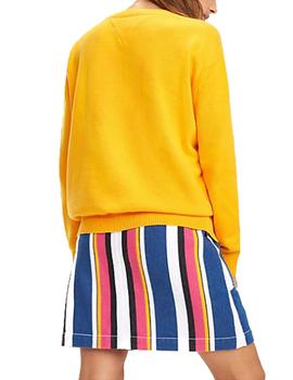 Jersey Tommy Jeans amarillo