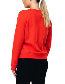 Sudadera Tommy Jeans Essential rojo