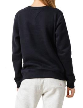 Sudadera Tommy Jeans Casual negro
