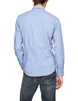 Camisa Pepe Jeans Gregory azul