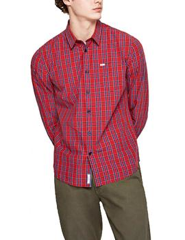 Camisa Pepe Jeans Ernest rojo