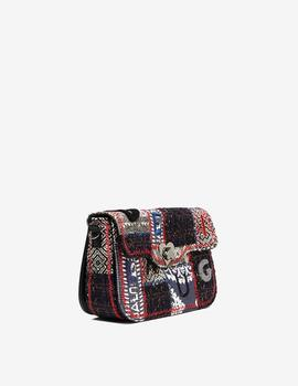 Bolso Desigual Patch Amorgos multi